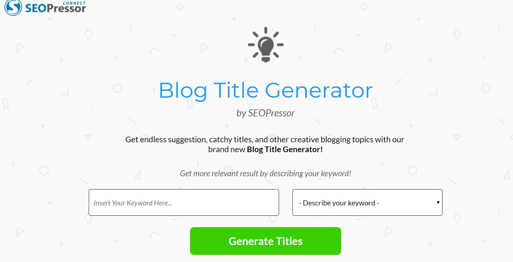 6 life-saving tools to help you generate more blog titles